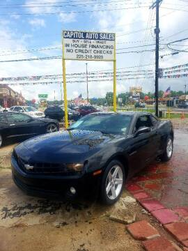 2010 Chevrolet Camaro for sale at CAPITOL AUTO SALES LLC in Baton Rouge LA