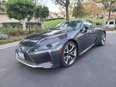 2019 Lexus LC 500 for sale at E MOTORCARS in Fullerton CA