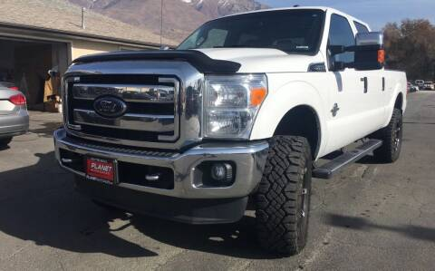 2014 Ford F-250 Super Duty for sale at PLANET AUTO SALES in Lindon UT