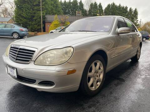 2006 Mercedes-Benz S-Class for sale at Viewmont Auto Sales in Hickory NC