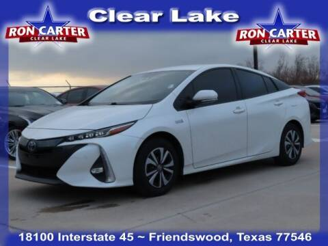 2017 Toyota Prius Prime for sale at Ron Carter  Clear Lake Used Cars in Houston TX