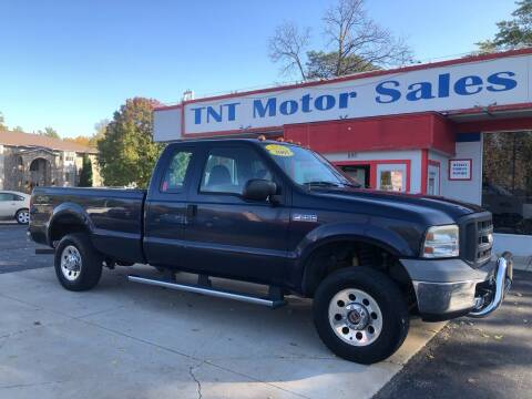 2005 Ford F-250 Super Duty for sale at TNT Motor Sales in Oregon IL