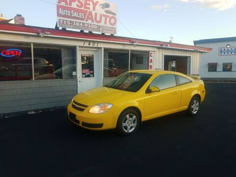 2007 Chevrolet Cobalt for sale at Apsey Auto in Marshfield WI