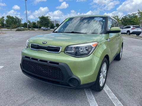 2015 Kia Soul for sale at Alma Car Sales in Miami FL