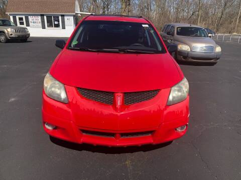 2003 Pontiac Vibe for sale at Lewis Auto World LLC in Brookville OH