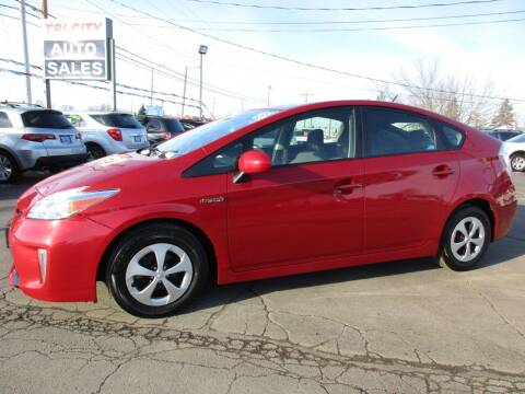 2014 Toyota Prius for sale at TRI CITY AUTO SALES LLC in Menasha WI