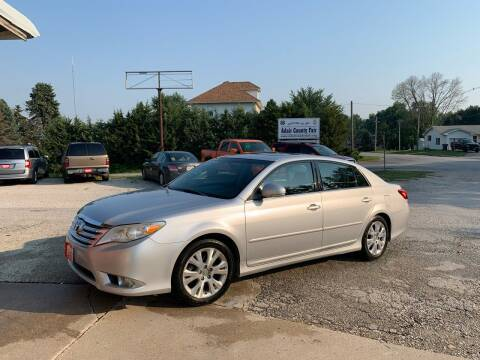 2012 Toyota Avalon for sale at GREENFIELD AUTO SALES in Greenfield IA