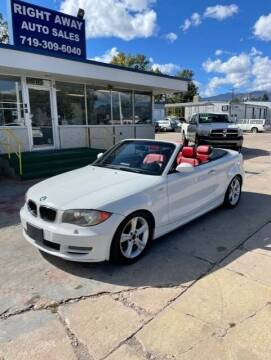 2008 BMW 1 Series for sale at Right Away Auto Sales in Colorado Springs CO