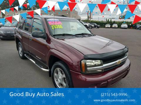 2007 Chevrolet TrailBlazer for sale at Good Buy Auto Sales in Philadelphia PA