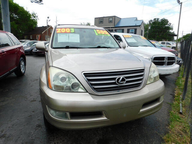 2003 Lexus GX 470 for sale at WOOD MOTOR COMPANY in Madison TN