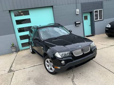 2007 BMW X3 for sale at Enthusiast Autohaus in Sheridan IN