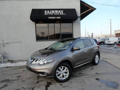 2011 Nissan Murano for sale at FAIRWAY AUTO SALES, INC. in Melrose Park IL