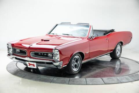 1966 Pontiac Le Mans for sale at Duffy's Classic Cars in Cedar Rapids IA