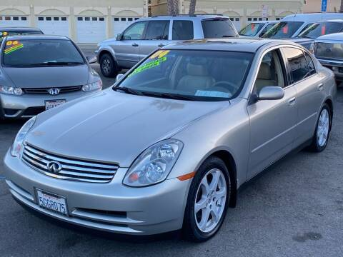 2004 Infiniti G35 for sale at North County Auto in Oceanside CA