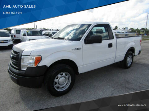 2013 Ford F-150 for sale at AML AUTO SALES - Pick-up Trucks in Opa-Locka FL