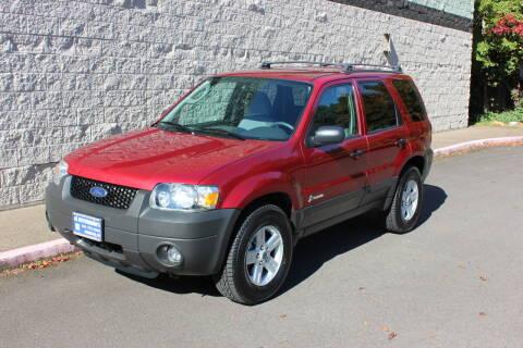 2006 Ford Escape Hybrid for sale at Al Hutchinson Auto Center in Corvallis OR
