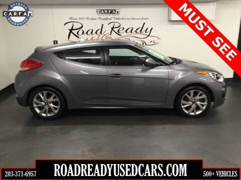 2016 Hyundai Veloster for sale at Road Ready Used Cars in Ansonia CT