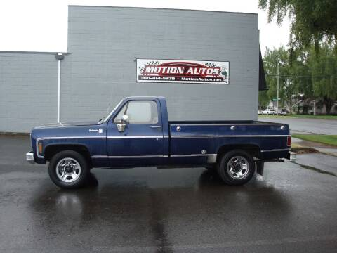 1975 Chevrolet C/K 20 Series for sale at Motion Autos in Longview WA