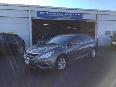 2011 Hyundai Sonata for sale at My Three Sons Auto Sales in Sacramento CA