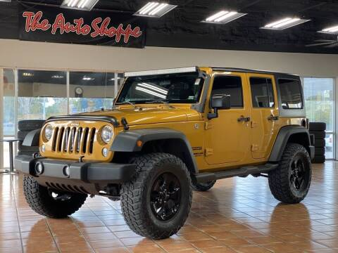 2014 Jeep Wrangler Unlimited for sale at The Auto Shoppe in Springfield MO