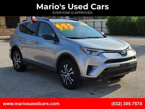 2017 Toyota RAV4 for sale at Mario's Used Cars - Pasadena Location in Pasadena TX