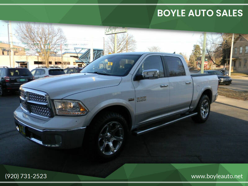 2013 RAM Ram Pickup 1500 for sale at Boyle Auto Sales in Appleton WI