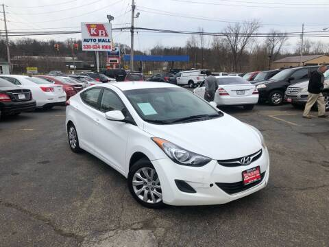 2011 Hyundai Elantra for sale at KB Auto Mall LLC in Akron OH