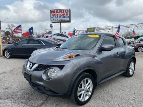 2015 Nissan JUKE for sale at Mario Motors in South Houston TX