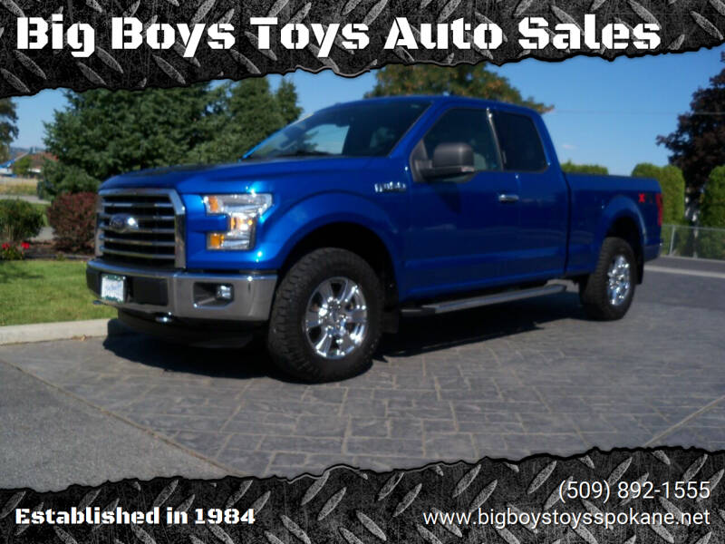 2015 Ford F-150 for sale at Big Boys Toys Auto Sales in Spokane Valley WA