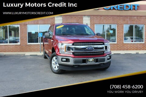 2018 Ford F-150 for sale at Luxury Motors Credit Inc in Bridgeview IL