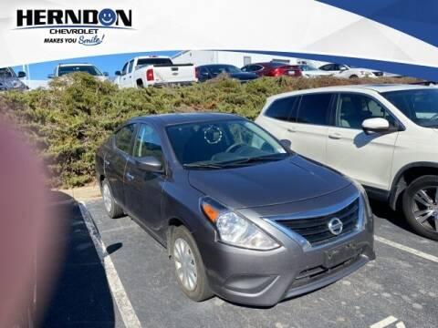 2019 Nissan Versa for sale at Herndon Chevrolet in Lexington SC