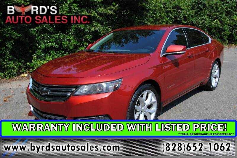 2015 Chevrolet Impala for sale at Byrds Auto Sales in Marion NC
