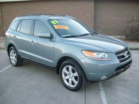 2007 Hyundai Santa Fe for sale at Cliff Bland & Sons Used Cars in El Dorado Spg MO