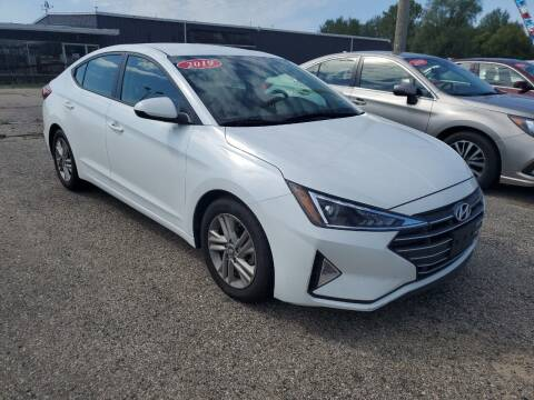 2019 Hyundai Elantra for sale at Paris Auto Sales & Service in Big Rapids MI