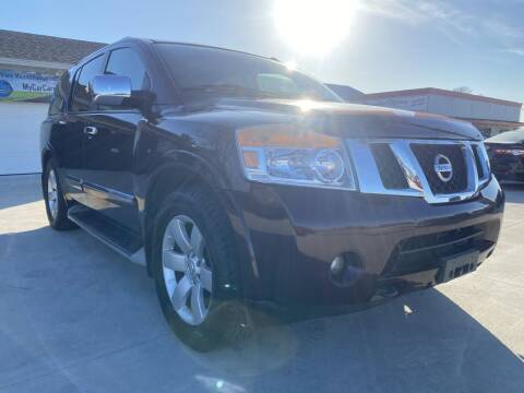 2013 Nissan Armada for sale at Princeton Motors in Princeton TX