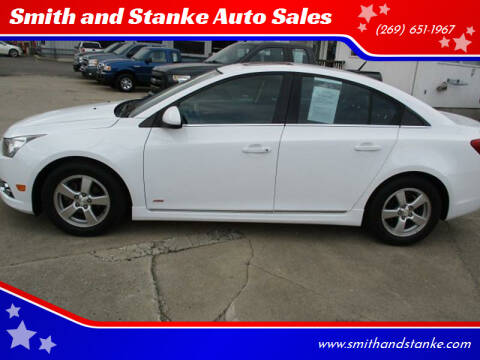 2013 Chevrolet Cruze for sale at Smith and Stanke Auto Sales in Sturgis MI