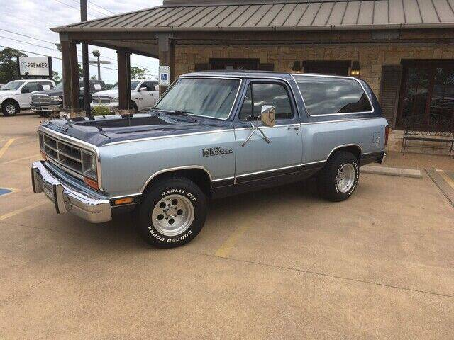 1987 Dodge Ramcharger for sale in Tyler, TX