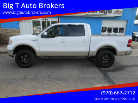 2007 Ford F-150 for sale at Big T Auto Brokers in Loveland CO