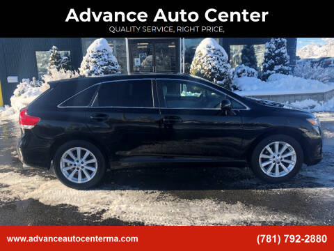 2009 Toyota Venza for sale at Advance Auto Center in Rockland MA