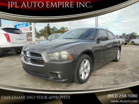 2014 Dodge Charger for sale at JPL AUTO EMPIRE INC. in Auburndale FL