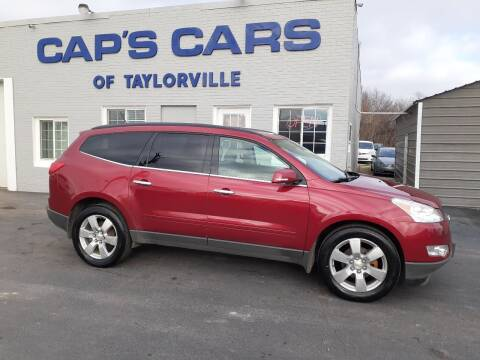 2012 Chevrolet Traverse for sale at Caps Cars Of Taylorville in Taylorville IL