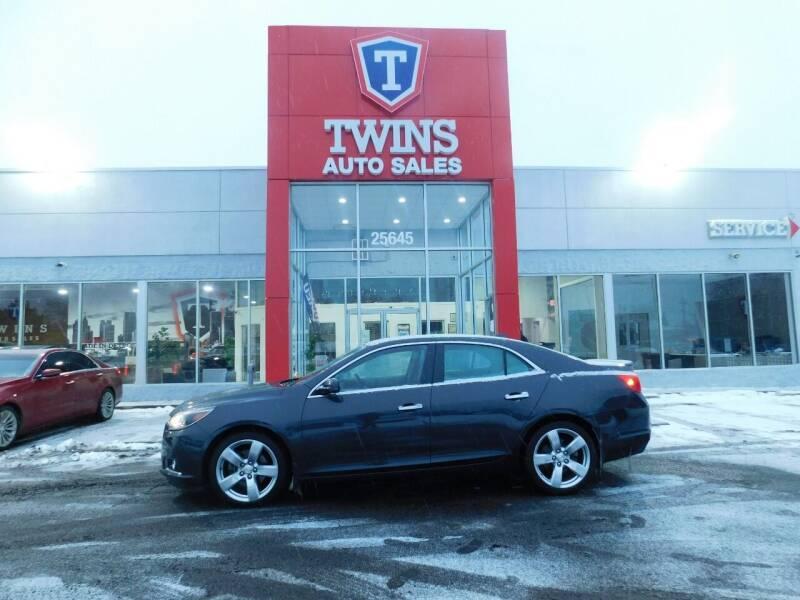 2014 Chevrolet Malibu for sale at Twins Auto Sales Inc Redford 1 in Redford MI