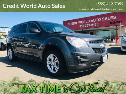 2011 Chevrolet Equinox for sale at Credit World Auto Sales in Fresno CA