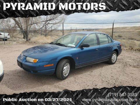 2001 Saturn S-Series for sale at PYRAMID MOTORS - Pueblo Lot in Pueblo CO