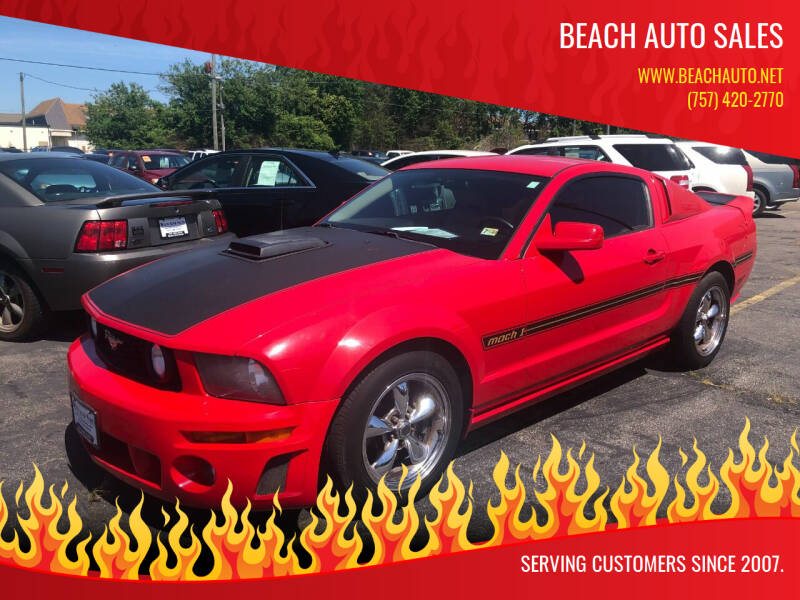 2006 Ford Mustang for sale at Beach Auto Sales in Virginia Beach VA