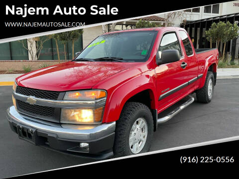 2004 Chevrolet Colorado for sale at Najem Auto Sale in Sacramento CA