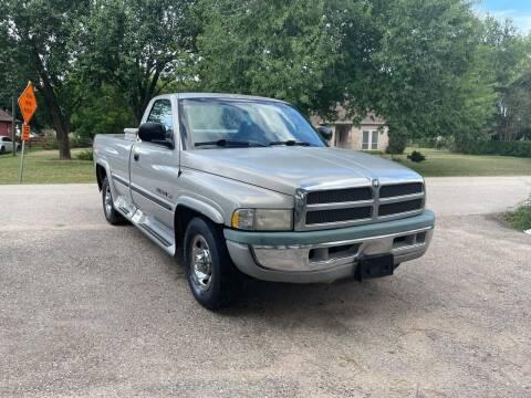 1999 Dodge Ram Pickup 2500 for sale at CARWIN MOTORS in Katy TX