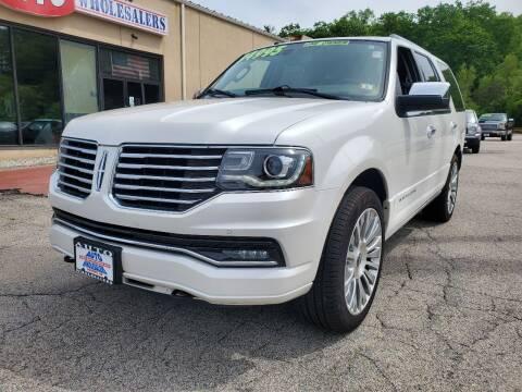 2017 Lincoln Navigator for sale at Auto Wholesalers Of Hooksett in Hooksett NH