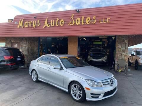 2012 Mercedes-Benz C-Class for sale at Marys Auto Sales in Phoenix AZ