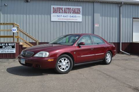 2004 Mercury Sable for sale at Dave's Auto Sales in Winthrop MN